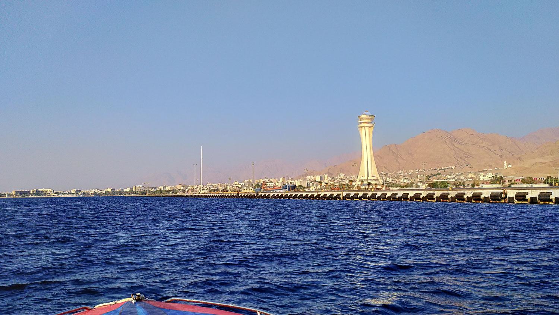 Вид на иорданский берег