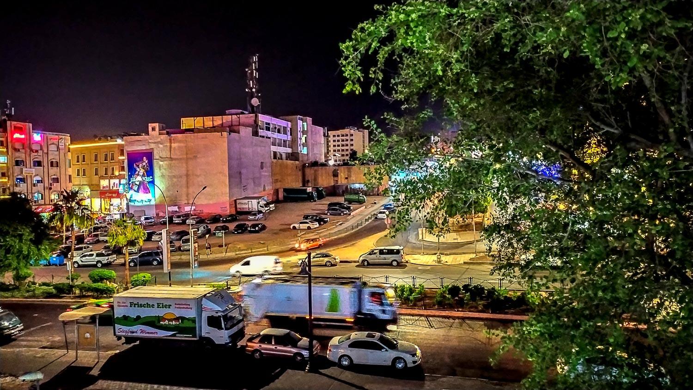 Вид на ночную Акабу