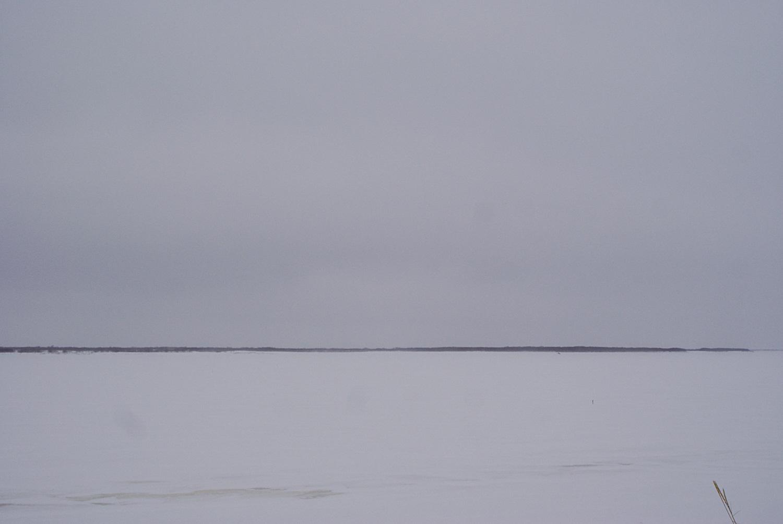 Печора... Огромная, застывшая