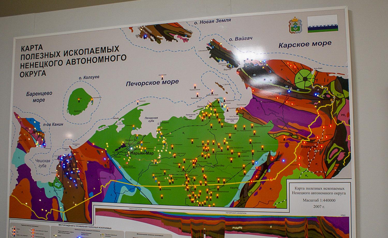 Интерактивная карта ценных ресурсов