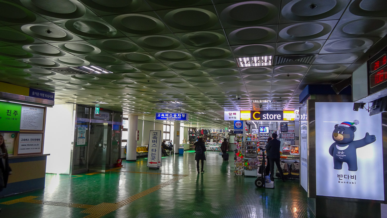Вокзал в Сеуле