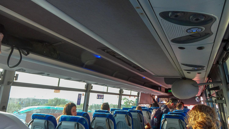 В автобусе Эйлата