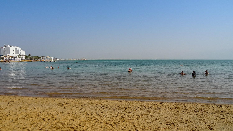 Соленость Мертвого моря 300–350 ‰