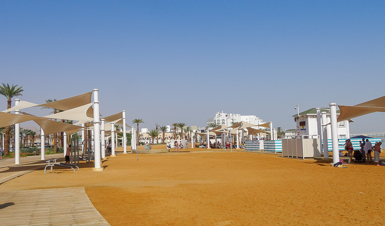 Эйн-Бокек, городской пляж