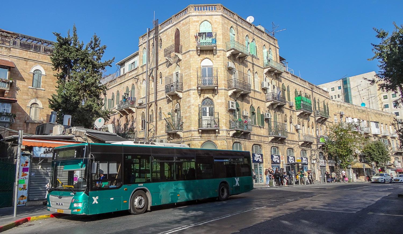 Автобус в Иерусалиме