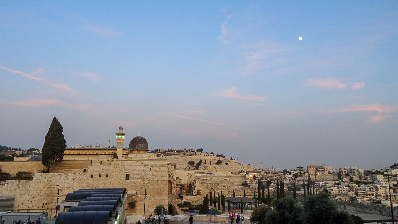 Иерусалим в сумерках
