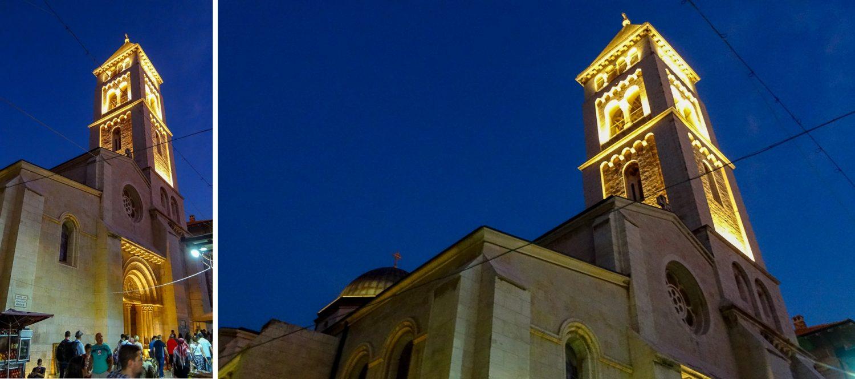 Лютеранская церковь вечером
