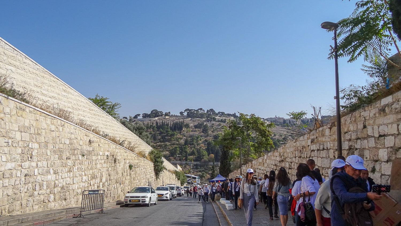Дорога к Гефсиманскому саду