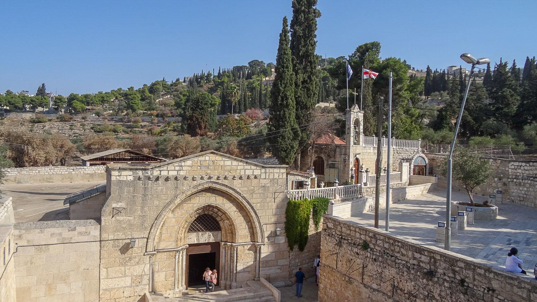 Вид на Гробницу Богородицы