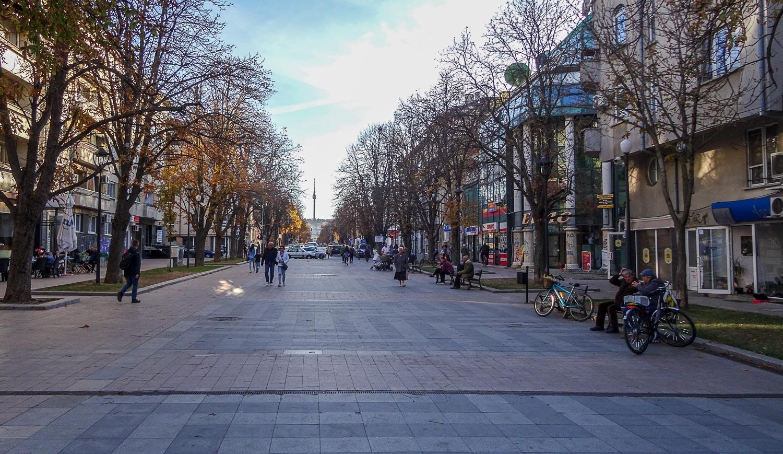 Пешеходный бульвар