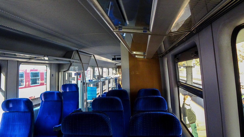 Вагон румынского поезда