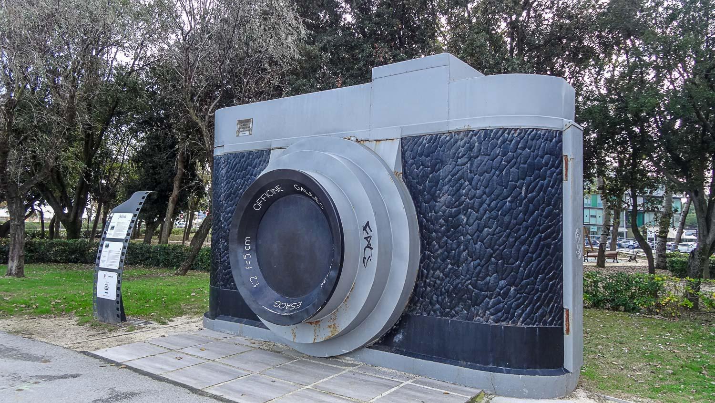 Гигантский фотоаппарат