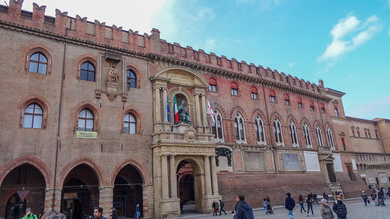 Palazzo dei Notai с другого ракурса
