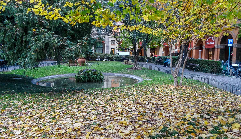 Осень в Болонье