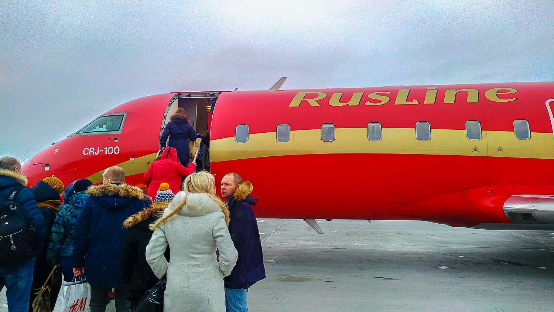Вот такой самолет доставит нас в Заполярье