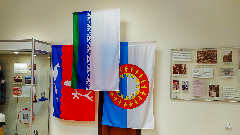 Флаги Нарьян-Мара, Ненецкого автономного округа и Заполярного района