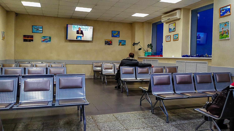 После досмотра в аэропорту Нарьян-Мара