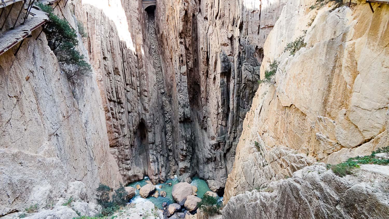 Высоченные скалы