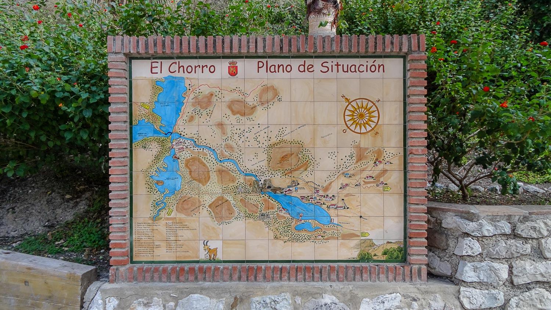Карта Эль-Чорро