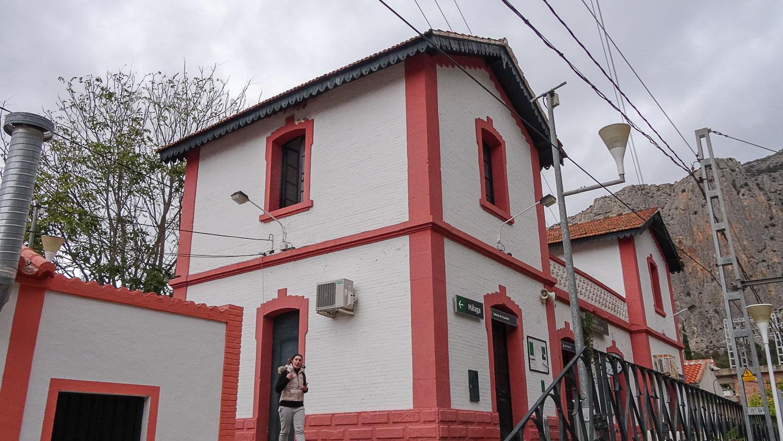Вокзал в Эль-Чорро
