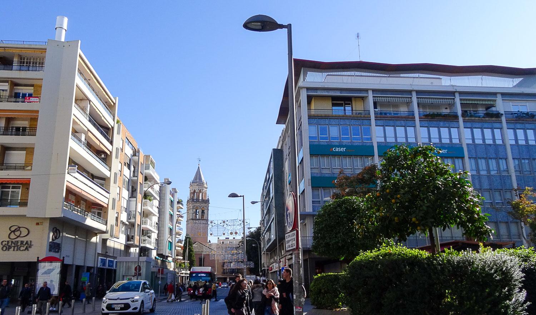 Оживленные улицы