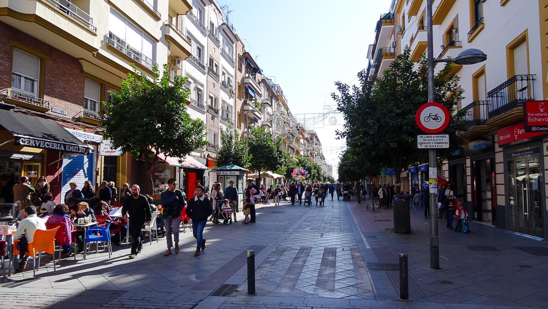 Еще пешеходная улочка