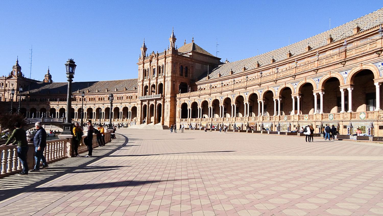 Plaza de España. Архитектурное великолепие