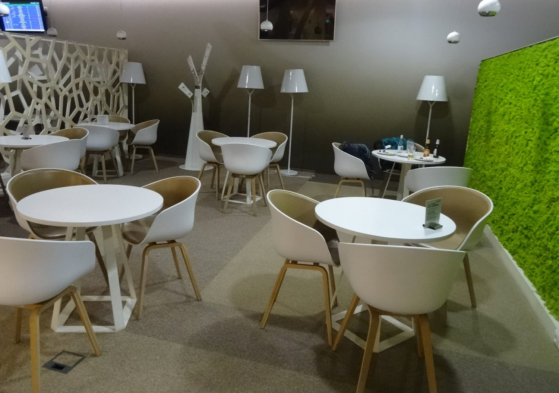 Preludium Lounge в аэропорту Варшавы