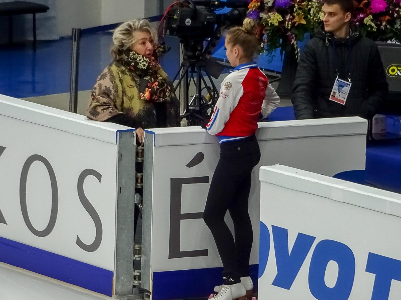 Татьяна Анатольевна Тарасова и Елена Радионова