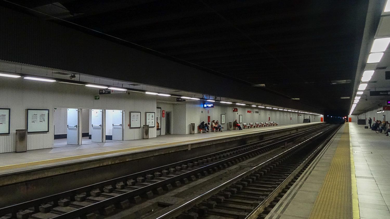 Некоторые станции напоминают метро