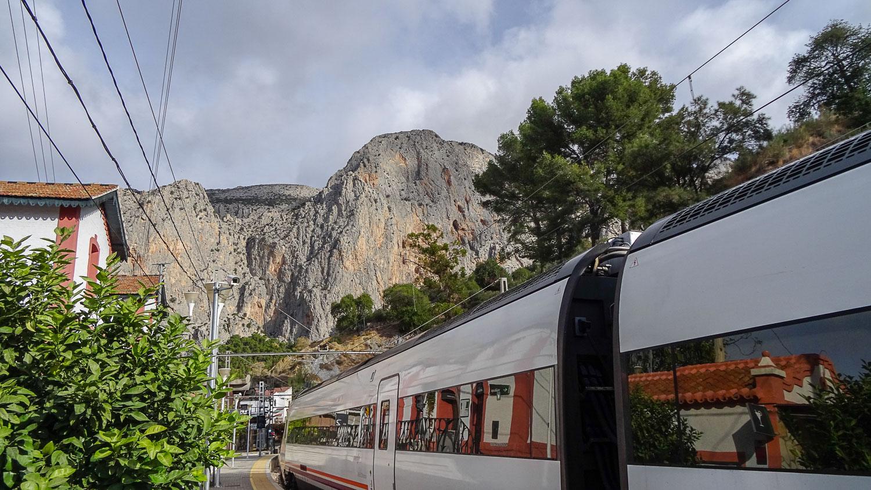 Поезд в Эль-Чорро