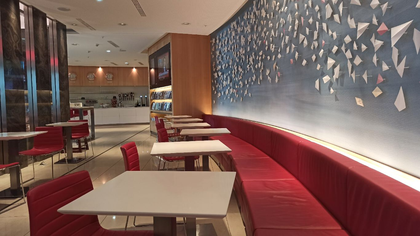 Air Canada Maple Leaf Lounge в аэропорту Франкфурта