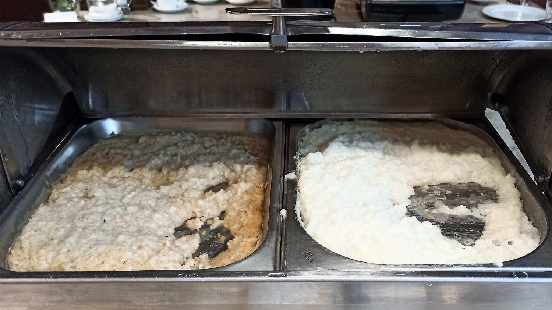 Овсянка и рисовая каша