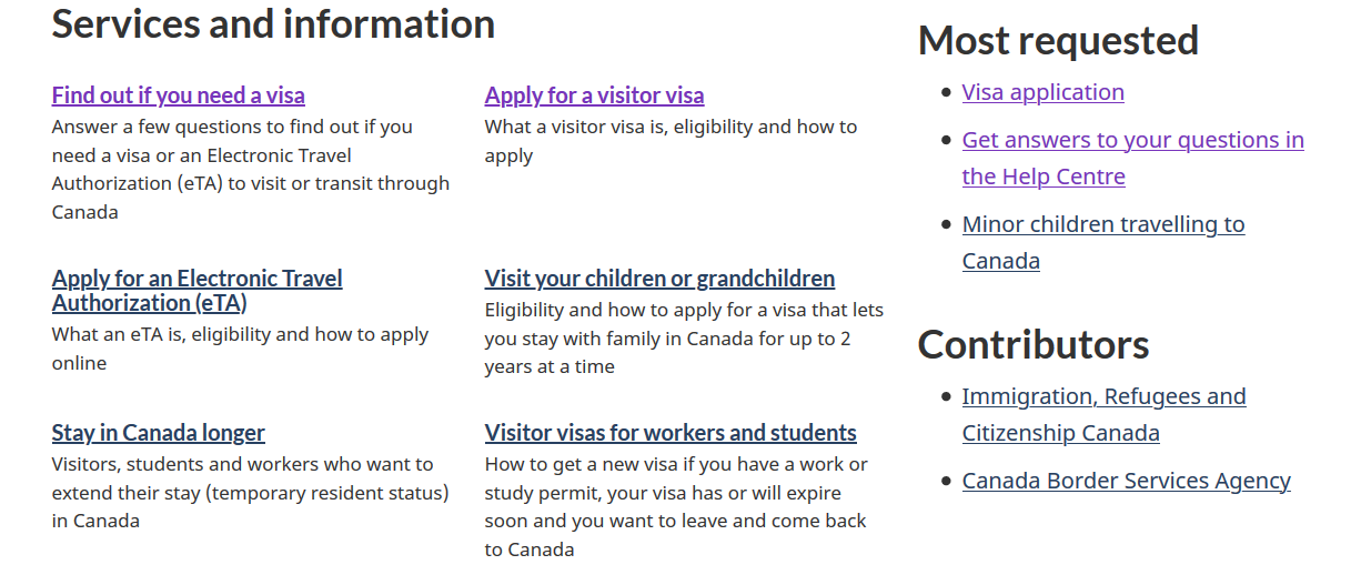 3 - Apply for a visitor visa