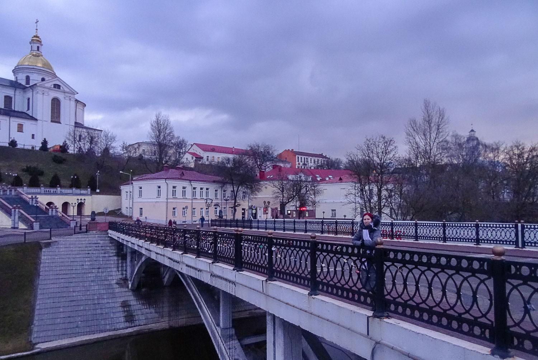 На Пушкинском мосту
