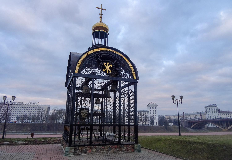 На площади 1000-летия Витебска