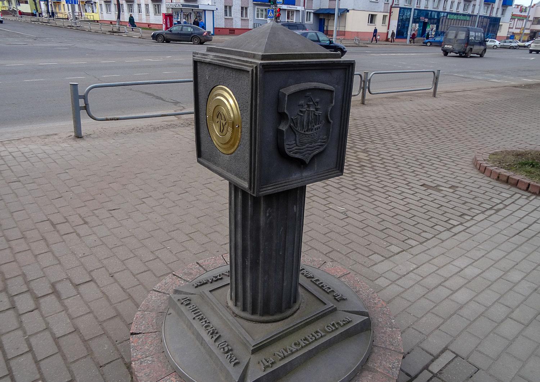 Познавательный памятник-указатель