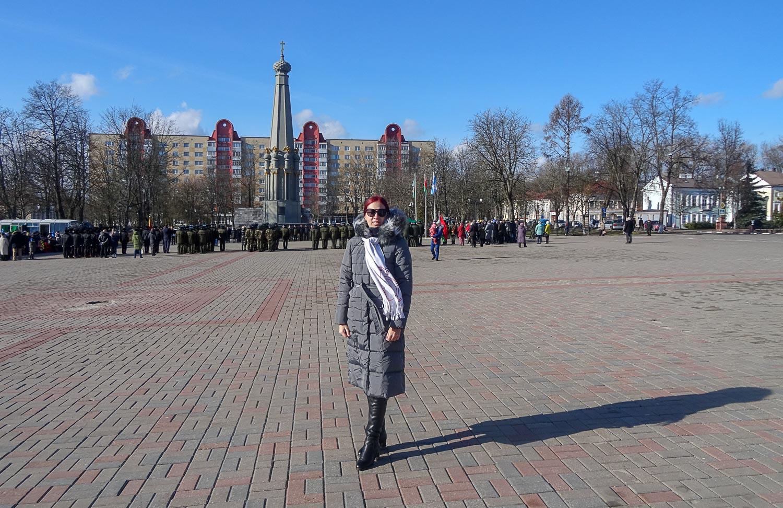 На площади Свободы