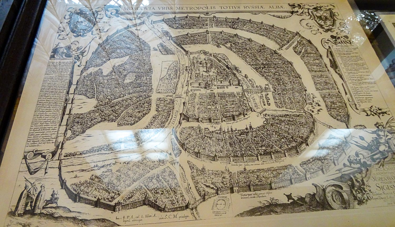 Фото старой карты