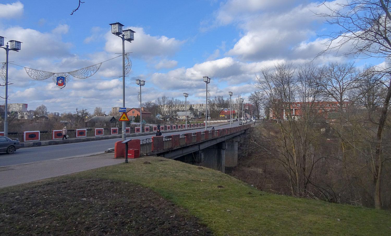 Красный мост - памятник войне 1812 года