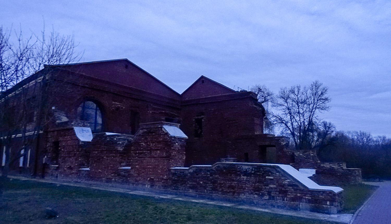 На территории Брестской крепости