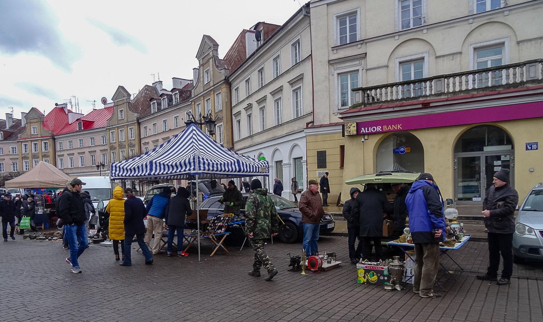 Рынок на Замковой площади