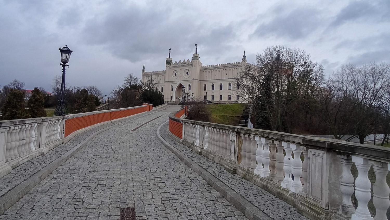 Дорога от Городских ворот к Люблинскому замку
