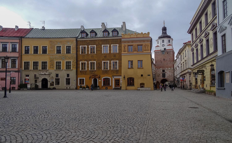 Рыночная площадь и Краковские ворота