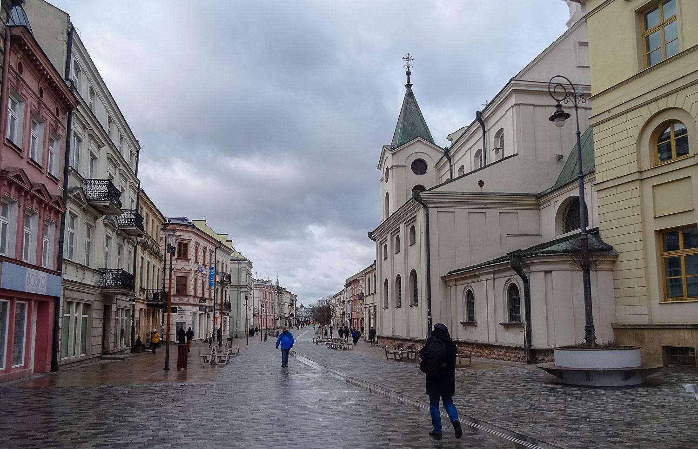 Центральная пешеходная улица Краковское предместье