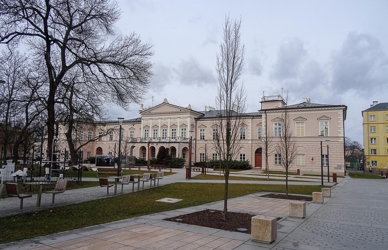 Дворец Любомирских (факультет политологии и журналистики в Университете Марии Склодовской-Кюри)