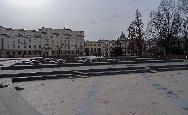 Площадь, почта, отель