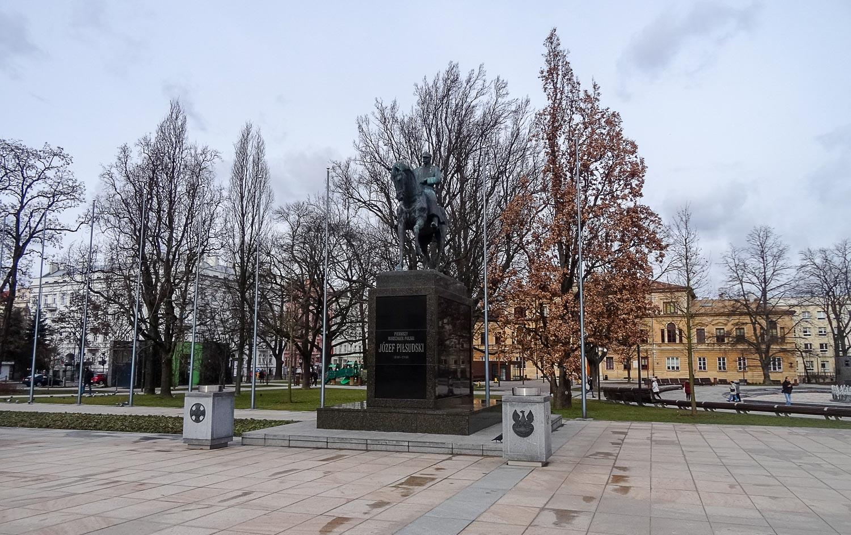 Памятник Юзефу Пилсудскому
