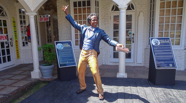 Samuel Sharpe - лидер восстания рабов, национальный герой
