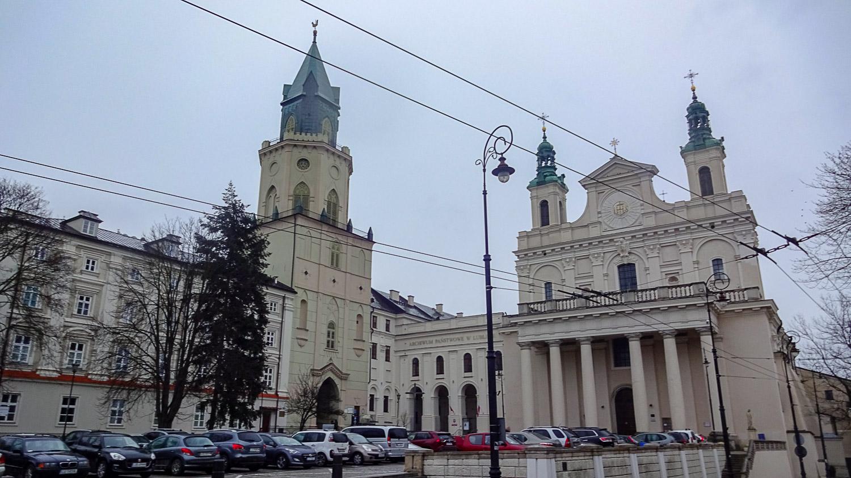 Тринитарская башня, архив и собор Святых Иоанна Крестителя и Иоанна Богослова